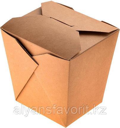 Коробка для лапши ECO NOODLES  560 мл., размер 90*90*100 мм. РФ, фото 2
