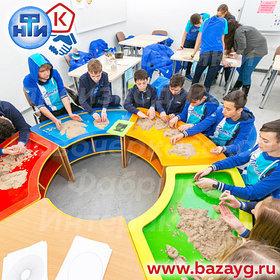 Столы для детского творчества (для занятий, для игры с песком)