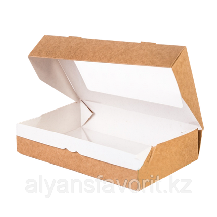 Контейнер на вынос ECO TABOX 1000 мл., размер 200*120*40 мм. РФ, фото 2