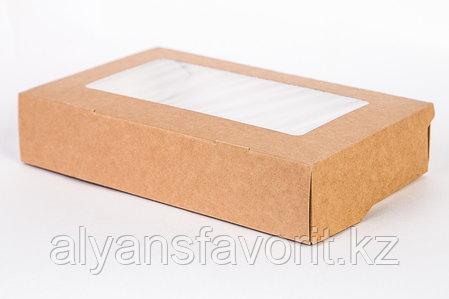 Контейнер на вынос ECO TABOX 1 400 мл., размер: 250*150*40 мм. РФ, фото 2