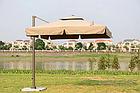 Зонт Banana квадратный (3х3м), HC-8003, в комплекте с 4-мя утяжелителями, фото 2