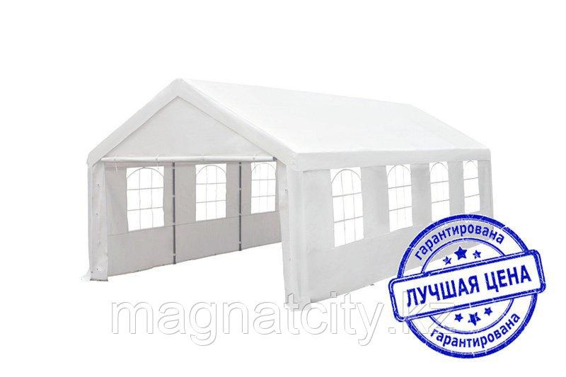 Шатер большой со стенками, белый (4х8м)