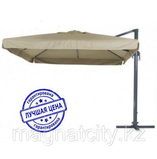 Зонт Banana квадратный (3х3м), песочный