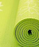 Коврики для йоги (61х173х0.6 см) ПВХ, с чехлом , фото 3