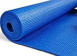 Коврики для йоги (61х173х0.6 см) ПВХ, с чехлом , фото 5