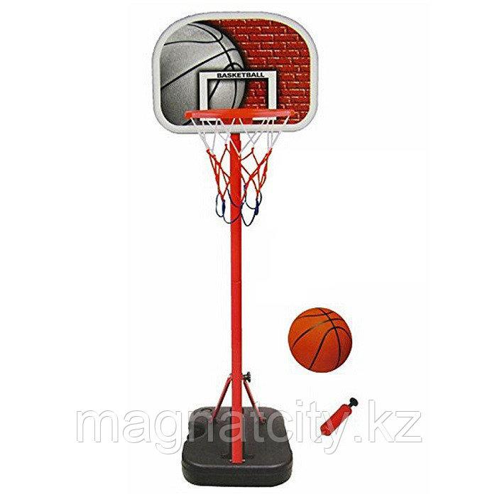 Детская баскетбольная стойка складная 116 см в чемодане арт.