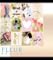 "Лист бумаги ""Карточки"", коллекция ""Pretty pink"""