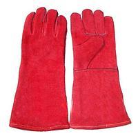 "Сварочные перчатки краги 16"" / Red General Purpose Welding Gloves"