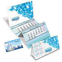 Изотовление настольных и настенных календарей с логотипом компании