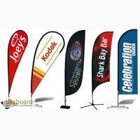 Изготовление настольных флажков с брендом (логотипом) компании