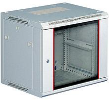 """Toten W2.6606.9000 Шкаф телекоммуникационный настенный 19"""" 6U,600*600*368 серый (2 направляющих, крепеж)"""