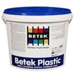 Краска Акриловая Водоэмульсионная BETEK PLASTIC 15л