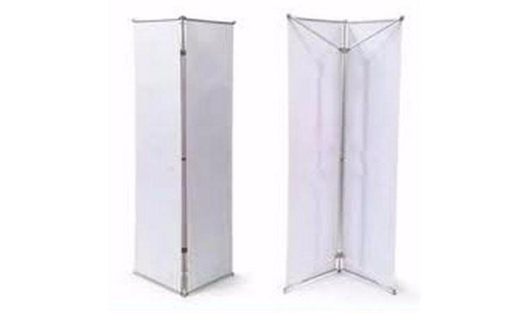 Х-баннер трехсторонняя «Тривижн»