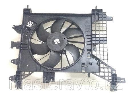 Электровентилятор охлаждения Duster A/C+ с кожухом Renault Daster 2012> NEW