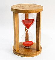 Песочные часы, деревянные, 16*10 см, 10 мин