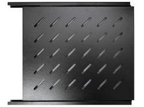 """Полка выдвижная для оборудования SA.0596.1901, для шкафов глубиной 960/1000, 19"""" L=740mm, black"""