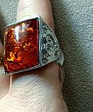 """Кольцо """"Янтарный перстень"""", фото 2"""