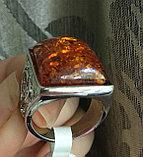 """Кольцо """"Янтарный перстень"""", фото 3"""