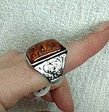 """Кольцо """"Янтарный перстень"""", фото 4"""