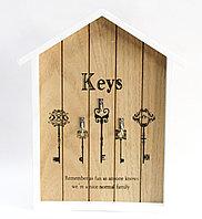 """Ключница шкатулка,""""Keys"""", 32*21 см, фото 1"""
