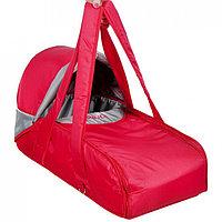 Сумка переноска для новорожденных Фея Кокон красный, фото 1