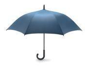 Зонт трость синий арт.d7400116