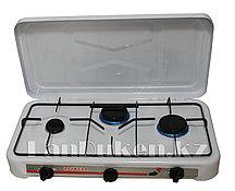 Газовая плита трехконфорочная переносная Luxell