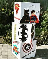 Картонные кубы с УФ-печатью с тематикой любимых персонажей.