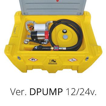 Мобильный резервуар для дизельного топлива 440 л.