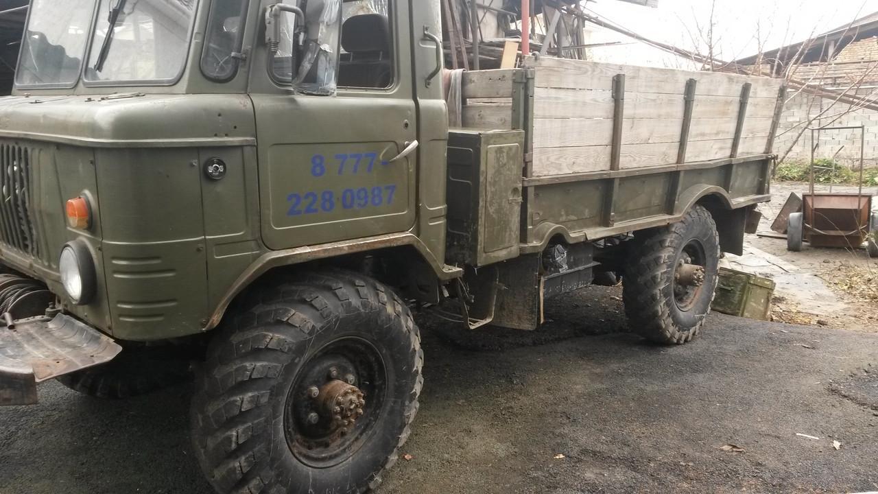 Грузоперевозки на ГАЗ66 с лебёдкой(45м)