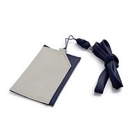 Чехол под магнитную карту | бейдж, телефон,синий