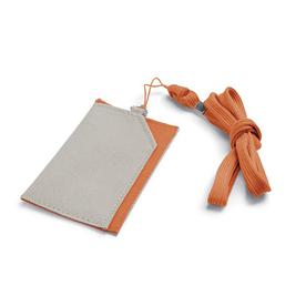 Чехол под магнитную карту | бейдж, телефон,оранжевый