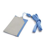 Чехол под магнитную карту | бейдж, телефон,голубой