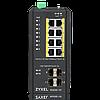 Промышленный L2 PoE+ коммутатор Zyxel RGS200-12P