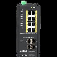 Промышленный L2 PoE+ коммутатор Zyxel RGS200-12P, фото 1