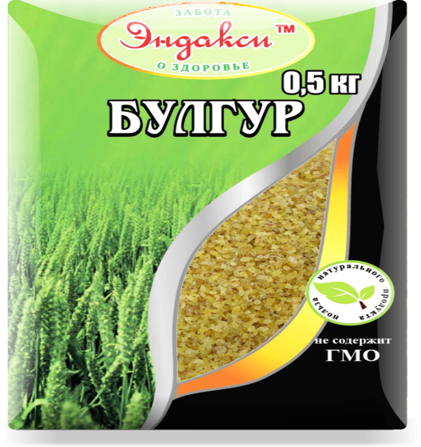 """Булгур 500 гр """"Эндакси"""""""