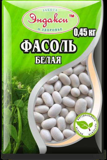 """Фасоль белая 500 гр """"Эндакси"""""""