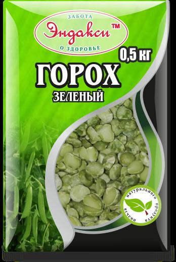 """Горох зеленый 500 гр """"Эндакси"""""""