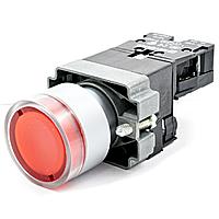 Кнопка стоповая XB2-BW3471 RED КСЛ-3471-1НЗ-ПК красная с подстветкой