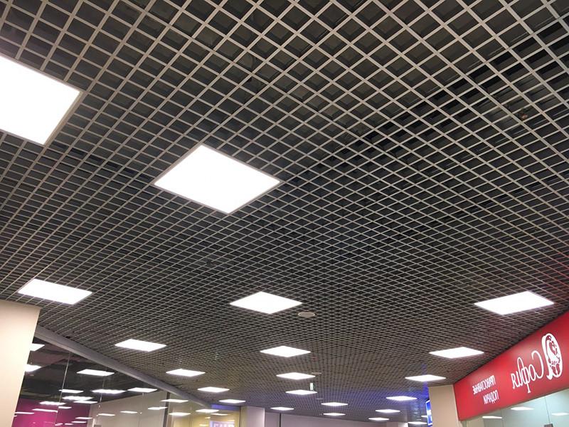 Подвесной потолок грильято - фото 4