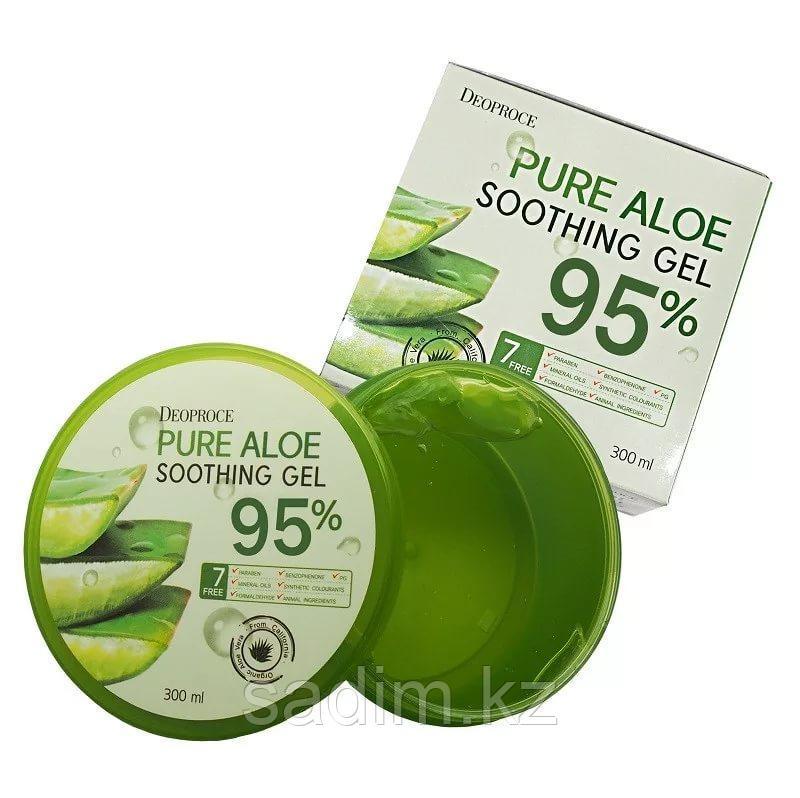 Deoproce Pure Aloe Soothing Gel 95% - Гель для тела алое 95%
