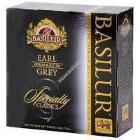 Чай чёрный пакетированный Избранная классика Эрл Грей Earl Grey, 100пак Basilur