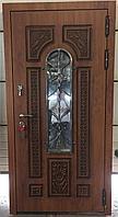 Дверь стальная влагостойкий МДФ с двух сторон с уличным покрытием винорит пр-во Израиль