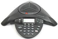 Аналоговый конференц-телефон Polycom SoundStation2 (non-expandable, w/display) (2200-16000-120)