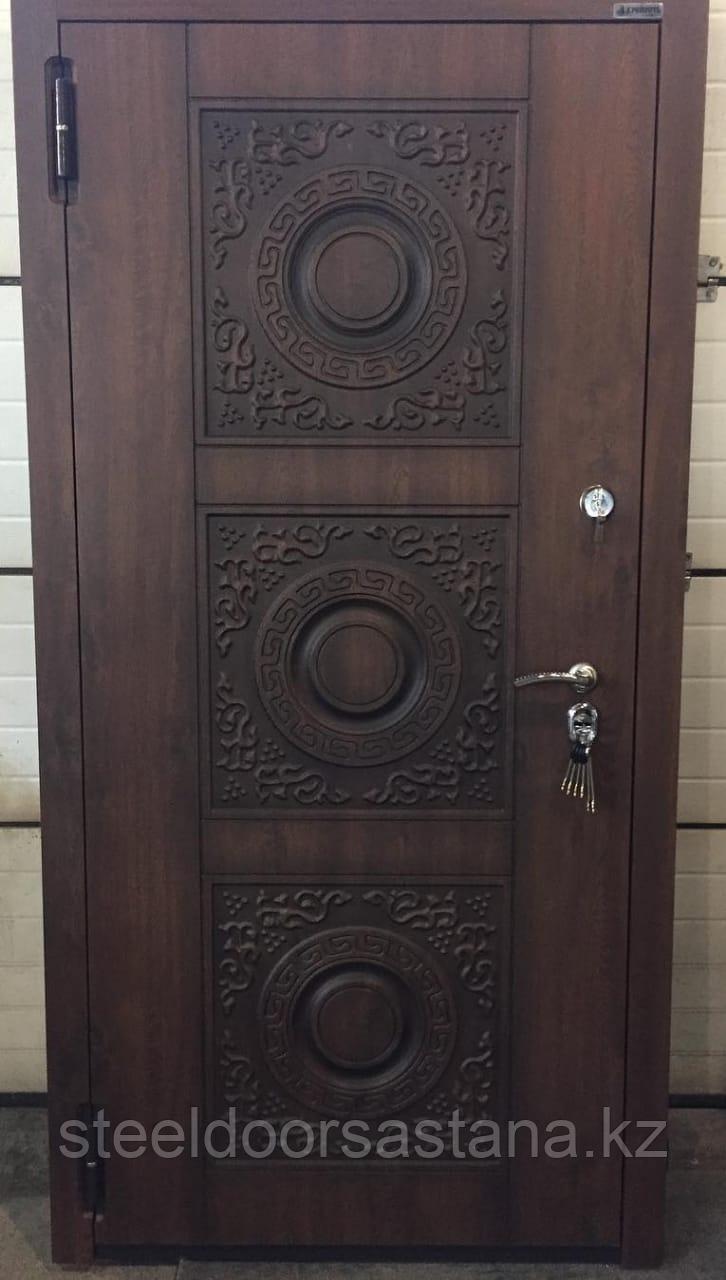 Дверь стальная с влагостойким МДФ и покрытием Винорит пр-во Израиль - фото 1