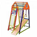 Детский спортивный комплекс BambinoWood Color Plus , фото 2