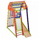 Детский спортивный комплекс BambinoWood Color Plus , фото 3