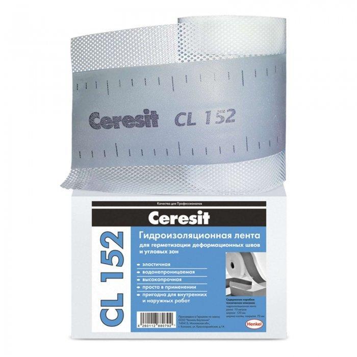 Ceresit CL152 Лента для гидроизоляции, 12 см*10 м
