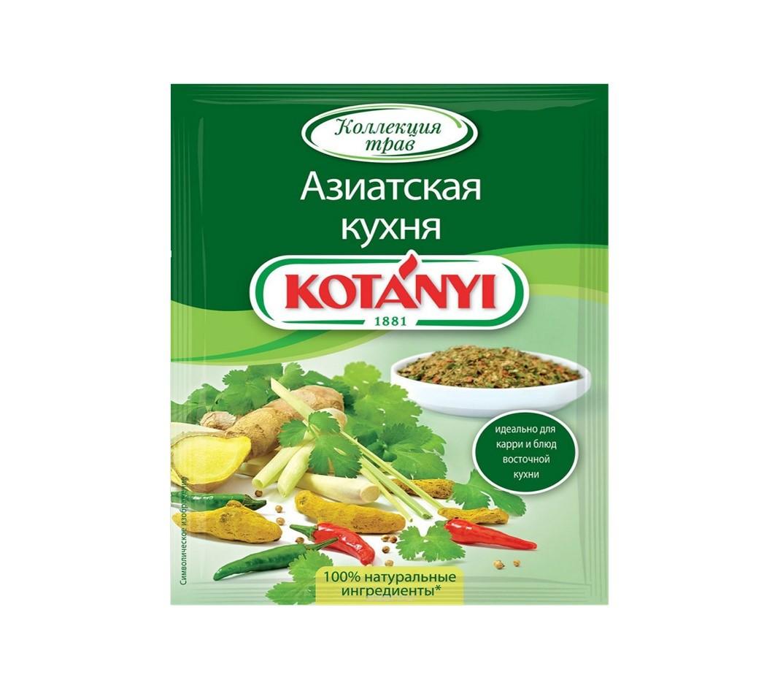 Приправа Азиатская кухня KOTANYI, пакет 15г