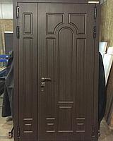 Дверь стальная двупольная с влагостойкой МДФ и покрытием винорит